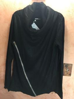 Mens Size Large H2H Long Sleeved Funnel Neck Shirt