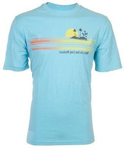 TOMMY BAHAMA Mens T-Shirt MAKE LIFE ONE LONG WEEKEND Relax B