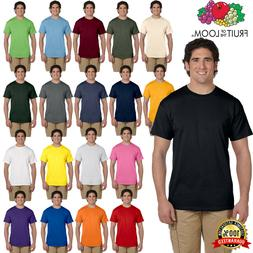 Fruit Of The Loom Mens T Shirt S to XL Blank HD Cotton Short
