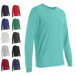 Fruit of the Loom Mens Tees SofSpun Jersey Long Sleeve T-Shi