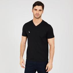Nautica Mens V-Neck Short Sleeve T-Shirt