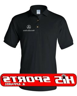 Mercedes Benz Polo Shirt Mens Adult Sizes S-5XL 6 Colors To