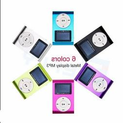 """MP3 Player With .9"""" LCD Screen Display Support Up To 64GB Mi"""