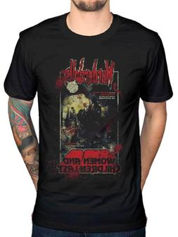 murderdolls 80s horror t shirts cotton size
