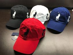 NEW Polo Ralph Lauren Baseball Cap Hat Big Pony Adjustable L