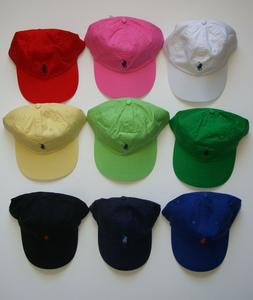 NEW Polo Ralph Lauren Baseball Cap Hat Small Pony Adjustable