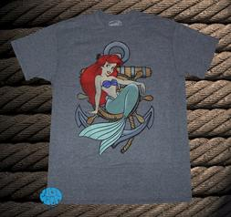New Disney Little Mermaid Ariel Anchor Rope Color Mens Class