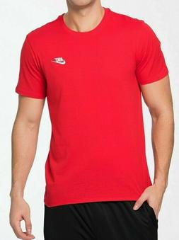 Nike Men's Athletic Wear Short Sleeve Logo Swoosh Crew Activ