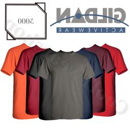 new men s heavy cotton plain crew
