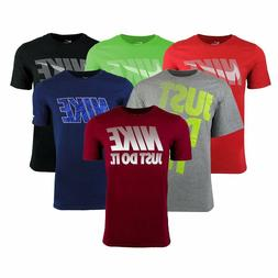New Nike Men's Swoosh T-Shirt, All Colors  Free Shipping