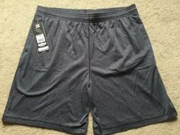 NEW! Shorts Mens Size 3X  Basketball Athletic Pockets Grey P