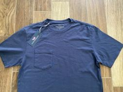 NEW WITH TAGS Mens Vineyard Vines Solid Color Pocket T-Shirt
