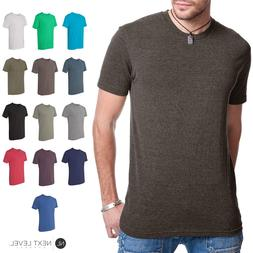 Next Level Premium TriBlend Mens Crew Neck T-Shirt Athletic
