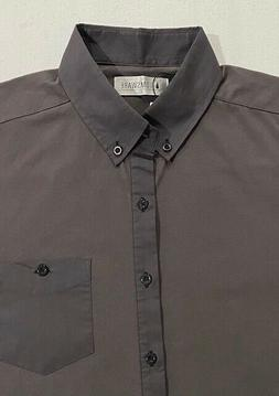 NWT Men's Tom's Ware Long Sleeve Shirt Size XL  Button Down