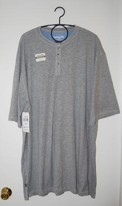 NWT Lee Mens Big & Tall The Weekender Heather Gray SS Henley