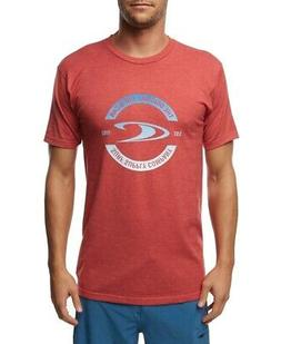 o neill mens t shirt red size