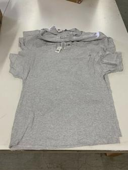 Pack Of 6 Mens Russell Athletic Short Sleeve T Shirts Grey S