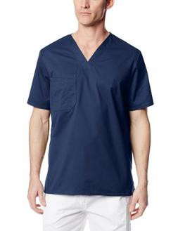 Mens Cherokee Plus V-Neck Shirt - Navy 3XL, Navy