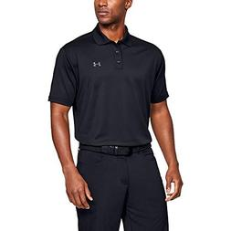 Under Armour Men's Performance Polo, Black /Steel, Medium