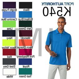 Port Authority K540 Mens Dri-Fit SIlk touch Polo XS-4XL Golf