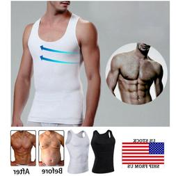 Powerful Compression Vest for Man Boobs Moobs Gynecomastia T