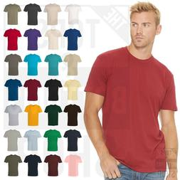 Next Level Premium Crew Cotton T-Shirt Mens Soft Fitted Basi