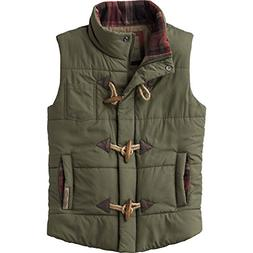 Legendary Whitetails Ladies Quilted Vest Army Large