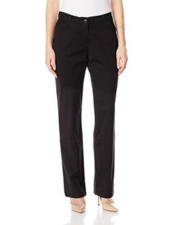 LEE Women's Relaxed Fit All Day Straight Leg Pant, Black, 14