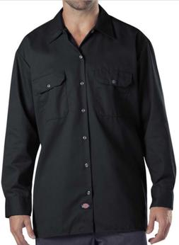 DICKIES SHIRT 574 MENS LONG SLEEVE WORK SHIRT BUTTON FRONT F