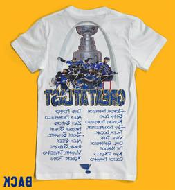 St.Louis Blues 2019 Stanley Cup Champions 2 Side Mens Shirt