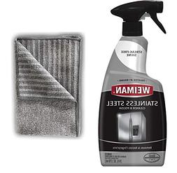 Weiman Stainless Steel Cleaner and Polish - 22 Ounces  - App