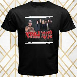 Styx and Larry The Cable Guy Tour Poster Men's Black T-Shirt