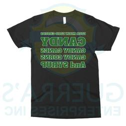 T-Shirt Four Food Categories Sugars Food Funny Cool Gift Pre