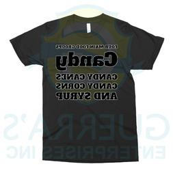 T-Shirt Four Food Categories Sugars Funny Cool Gift Present