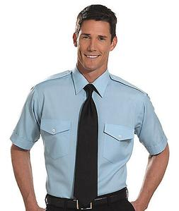 """The Aviator"" Pilot Shirt by Van Heusen - Men's Short Sleeve"