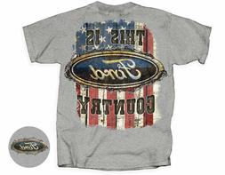 This Is Ford Country Western Flag Barbed Wire Men's T-Shirt~