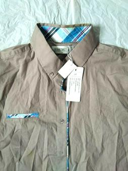 tom s ware men gray button front