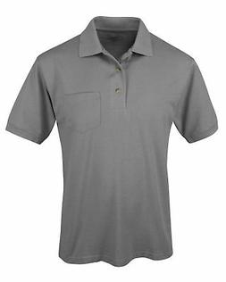 Tri-Mountain Men's Big And Tall Short Sleeve Pocket Sport Po
