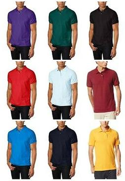 Lee Uniforms Men's Modern Fit Short Sleeve Polo Shirt T-shir