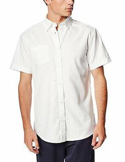 Lee Uniforms Men's Short-Sleeve Oxford Shirt
