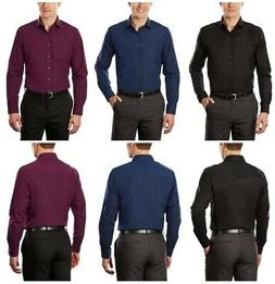 unlisted mens slim fit long sleeve solid