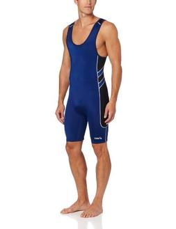ASICS Men's Unrestrained Wrestling Singlet , Medium