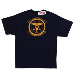 SOFFE US NAVY Hospital Corpsmen Men's Blue Cotton T-Shirt Si