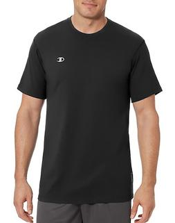 Champion Vapor Men's Cotton Basic Tee Black M