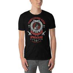 Veteran Day Grandfather was Soldier Short-Sleeve T-Shirt Del