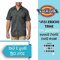 Dickies Original Work Shirt 1574 Men's Button Up Dress Unifo